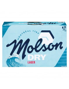 Molson Dry - 24 Cans