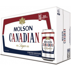 Molson Canadian - 15 Cans