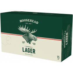 Moosehead Lager - 15 Cans