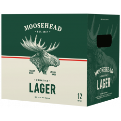 Moosehead Lager - 12 Bottles