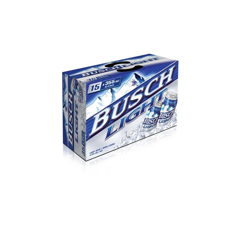 Busch Light - 15 Cans